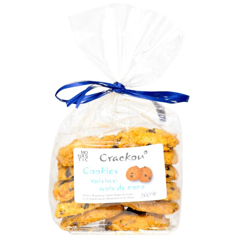 Cookies Raisin-Noix de Coco - Monastère de Thiais - Divine Box