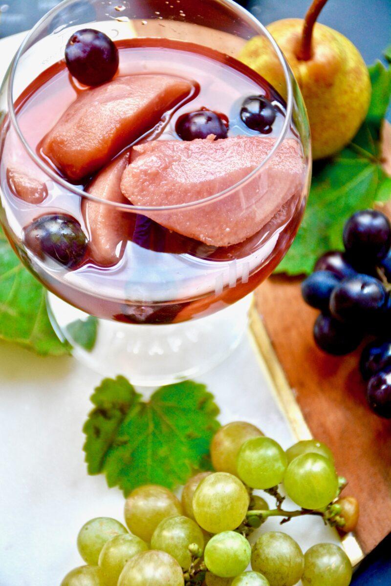Poires au vin - Abbaye de Rosans