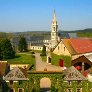 Vue de haut - Abbaye de La Trappe de Soligny