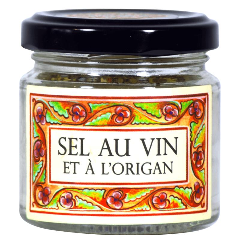 Sel au vin et à l'origan - Monastère de Solan - Divine Box