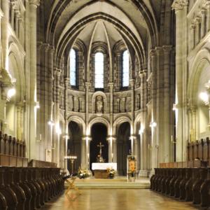 Intérieur de l'église - Abbaye de La Trappe de Soligny
