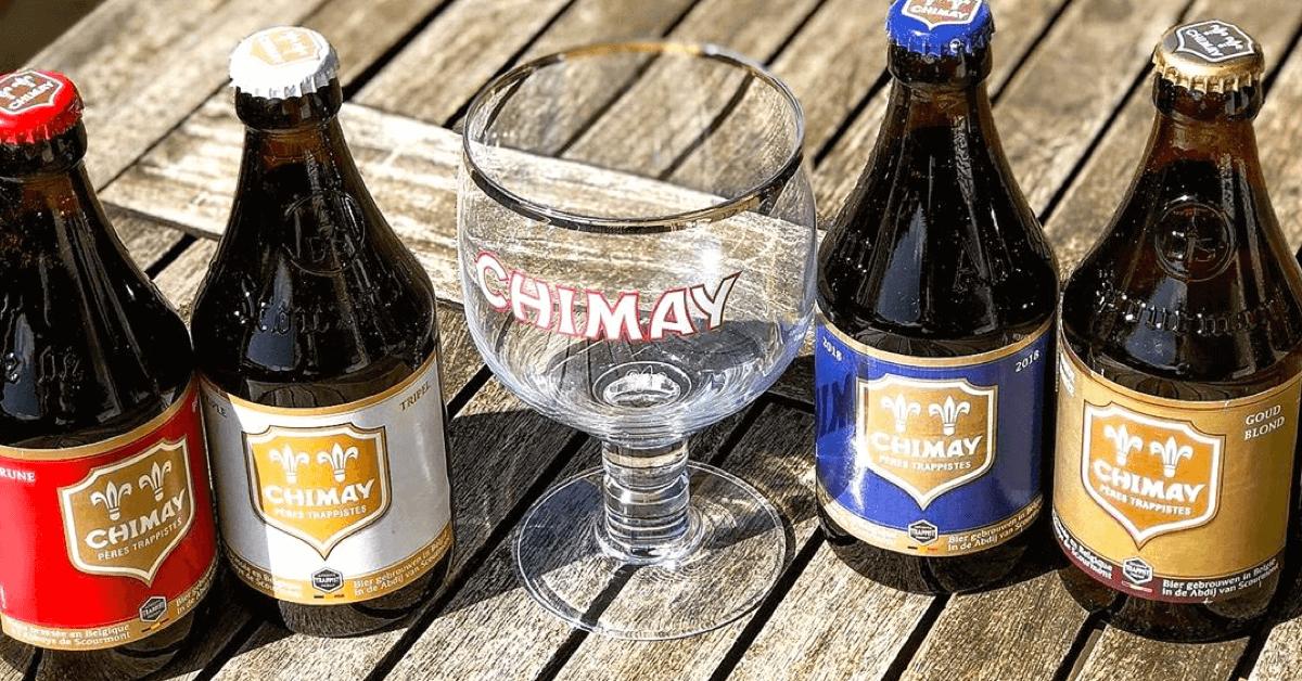 Les quatres bières Chimay de l'abbaye de Scourmont - Divine Box