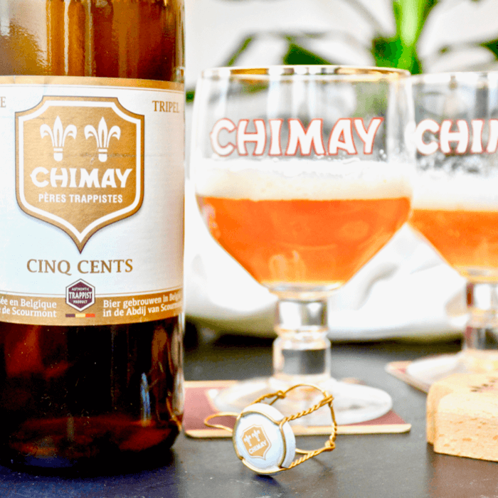 Chimay Cinq Cents (Blanche) - Abbaye Notre-Dame de Scourmont (Chimay) - Divine Box