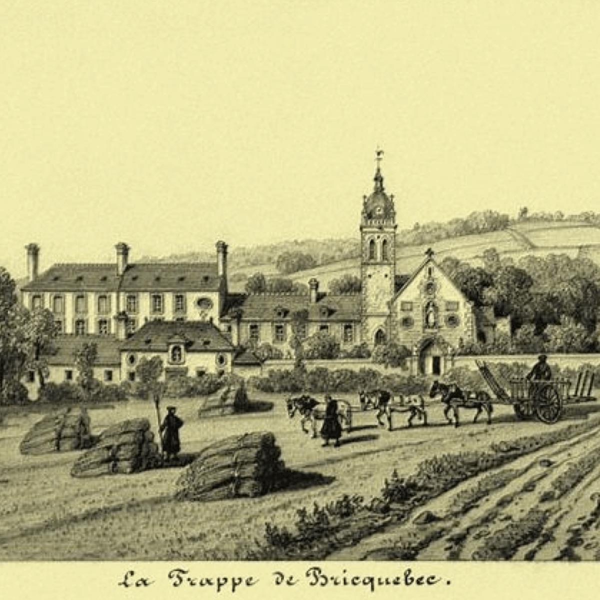 Moines brasseurs de l'abbaye de Scourmont