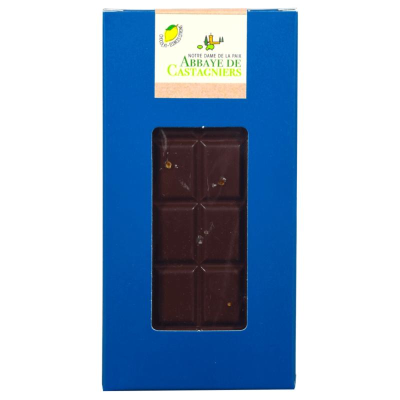 Chocolat écorces citron - Abbaye de Castagniers - Divine Box