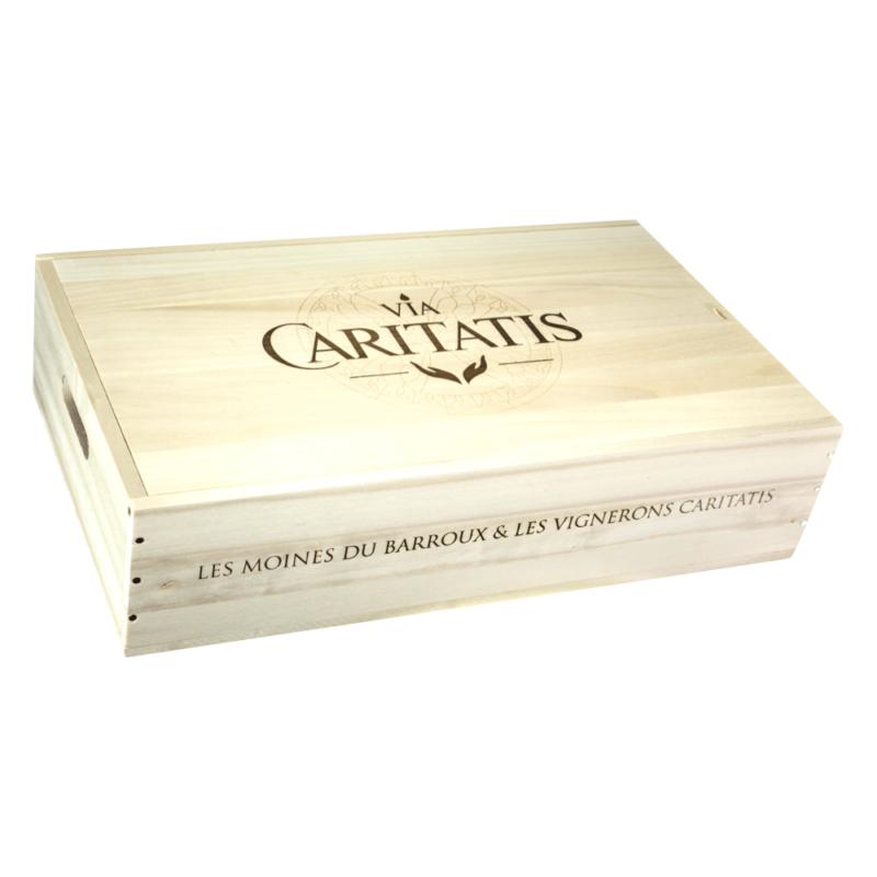 Coffret 5 vins Via Caritatis - Abbaye Sainte Madeleine du Barroux - Divine Box2
