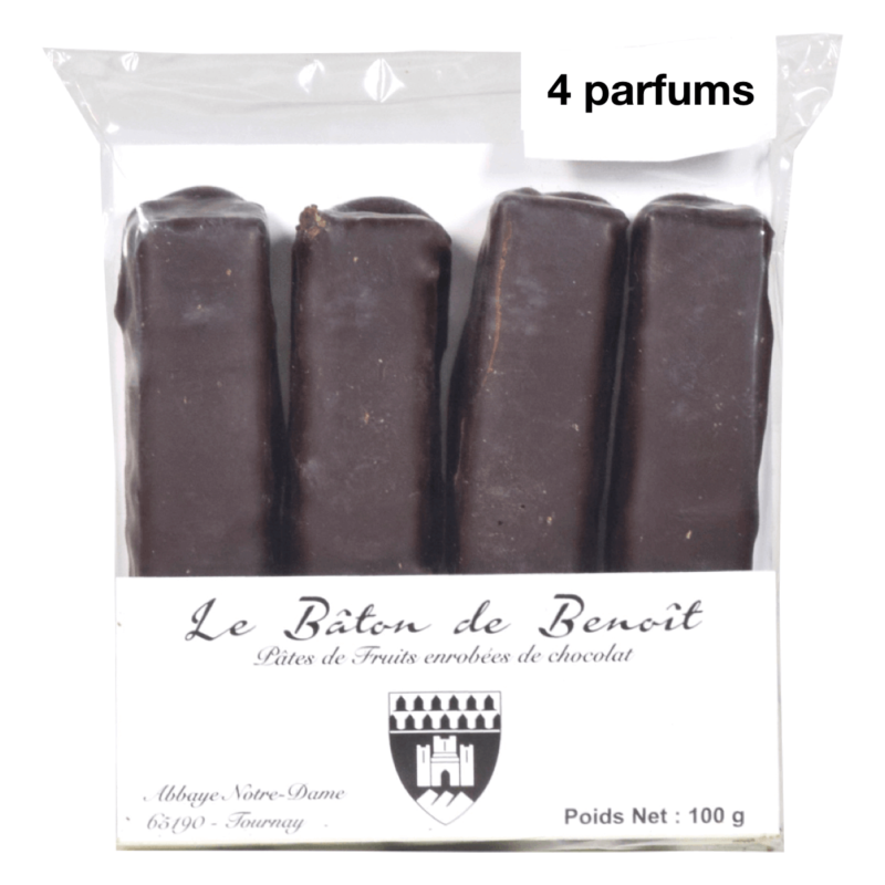 Pâtes de fruits 4 parfums - Abbaye de Tournay - Divine Box.001