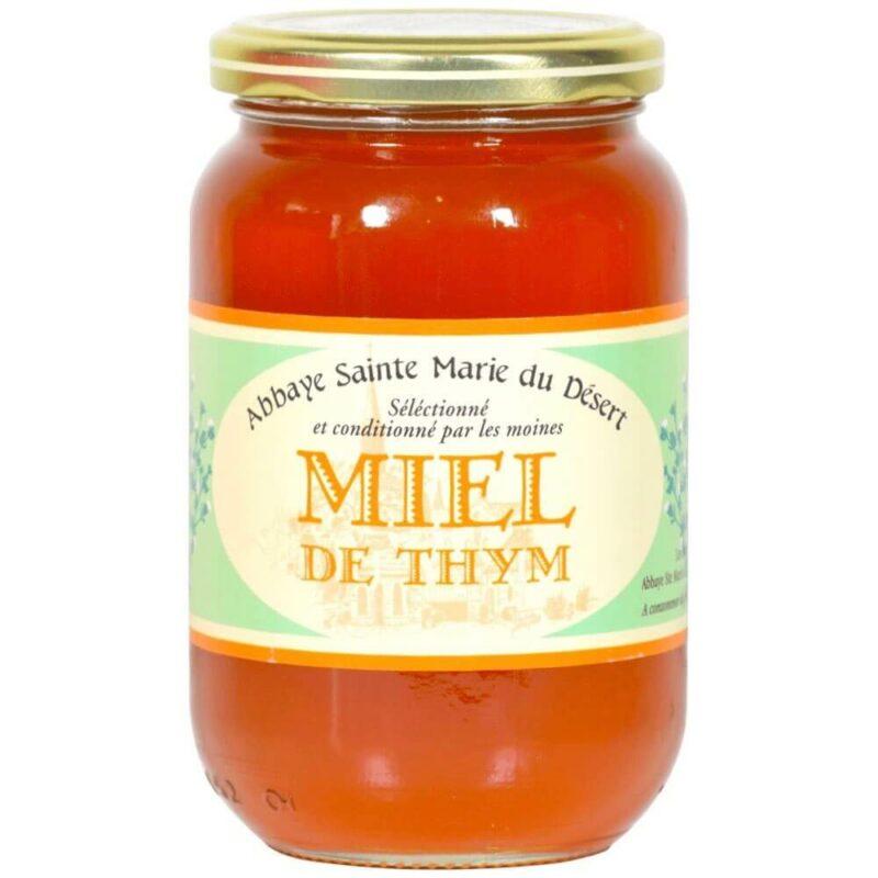 Miel de Thym - Abbaye Sainte-Marie du Désert - Divine Box