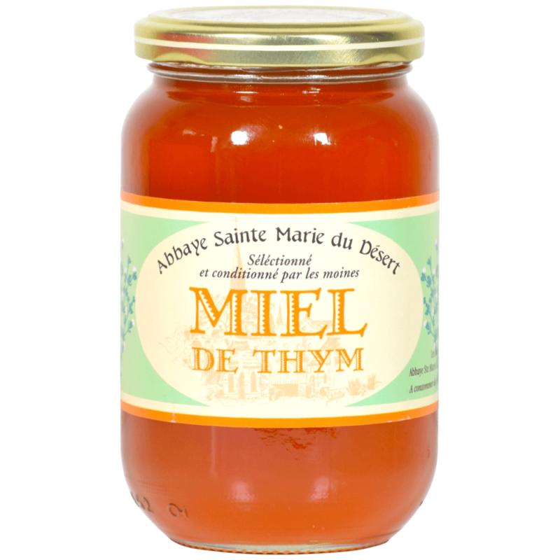 Miel de thym - Abbaye Sainte-Marie- du-Désert