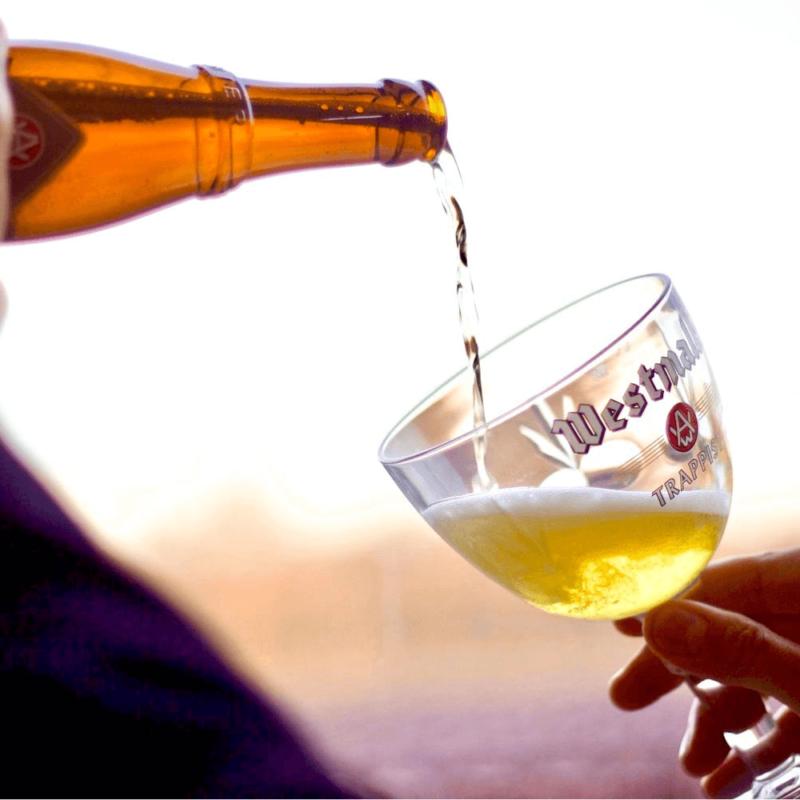 Bière trappiste Westmalle Tripel - Abbaye Notre-Dame du Sacré-Coeur de Westmalle - Divine Box