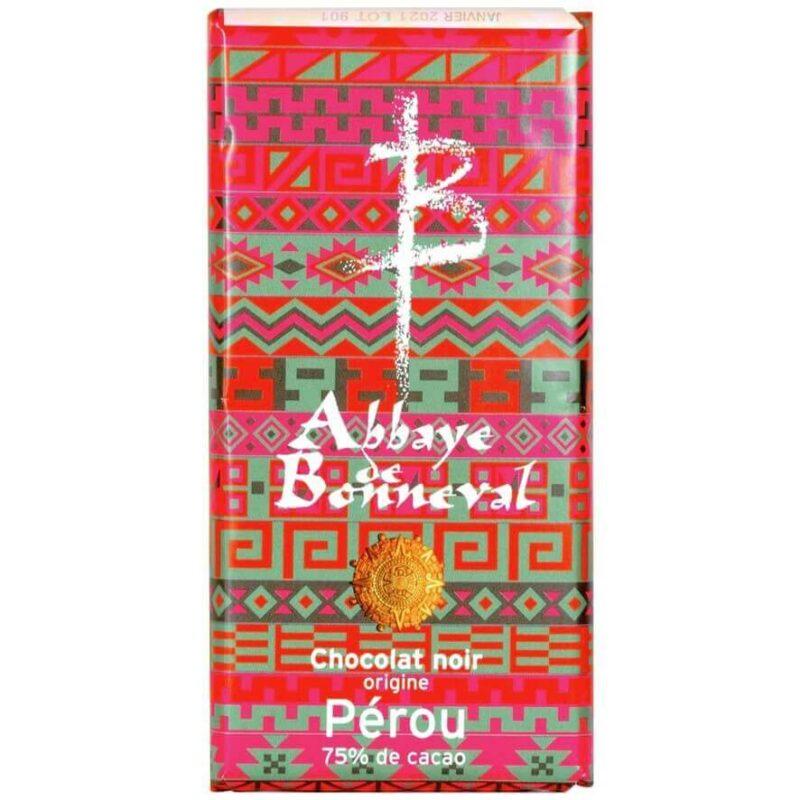 Chocolat-70%-Pérou-Abbaye de Bonneval
