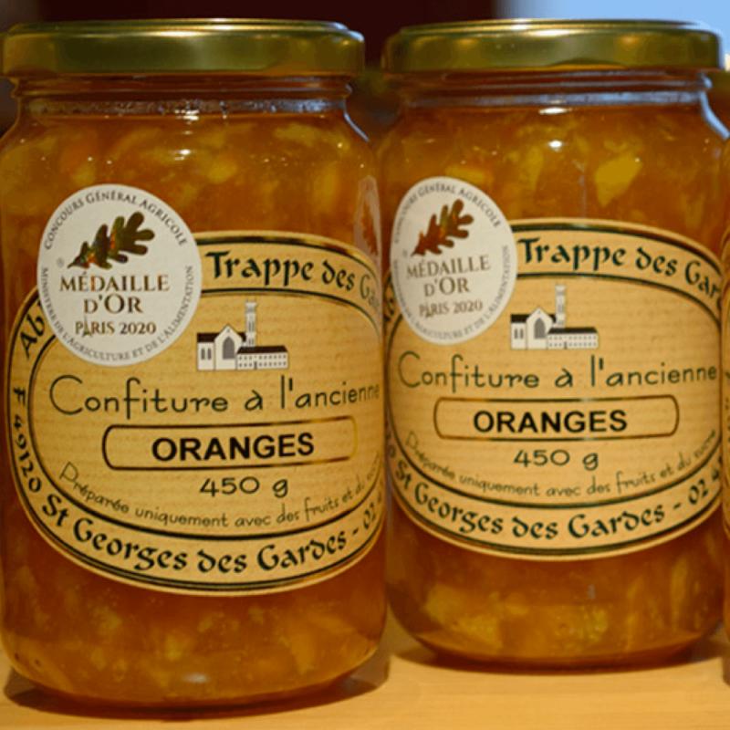 Confiture d'Oranges – Abbaye Notre-Dame des Gardes - médaille d'or