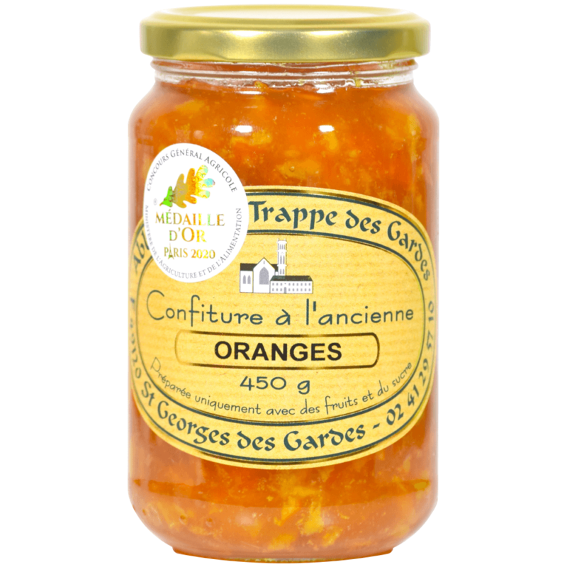 Confiture d'oranges - Notre-Dame des Gardes - Divine Box