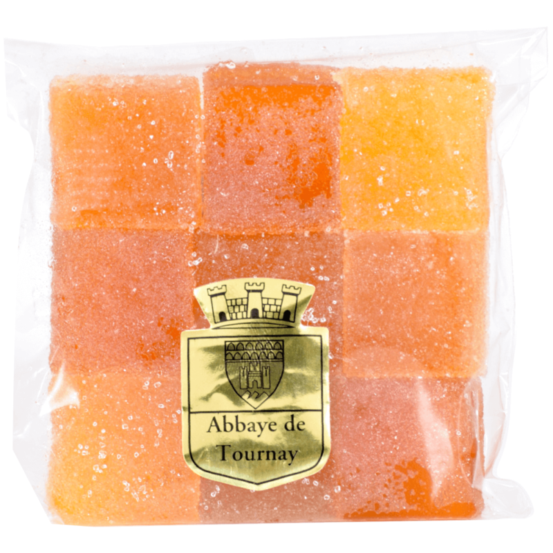 Pâtes de fruits fruits exotiques - Abbyae Notre-Dame de Tournay - Divine Box