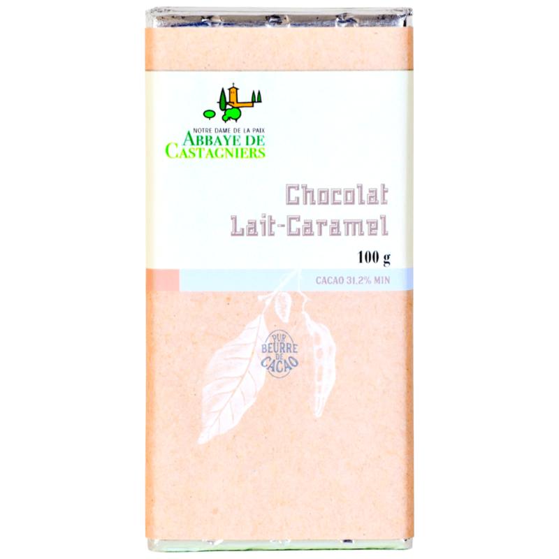 Chocolat lait-caramel – Abbaye Notre-Dame de la Paix de Castagniers - Divine Box