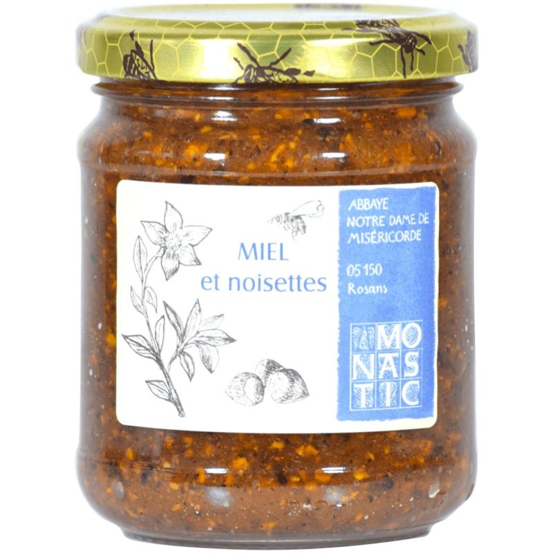 Miel aux noisettes – Abbaye Notre-Dame de Miséricorde de Rosans - Divine Box
