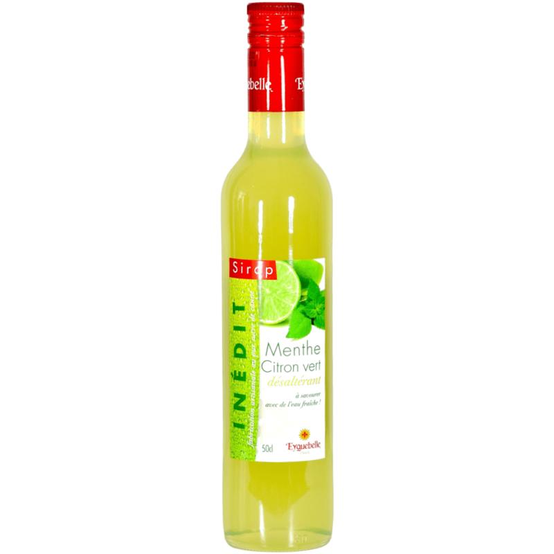 Sirop de Menthe-Citron Vert – Abbaye Notre-Dame d'Aiguebelle - Divine Box