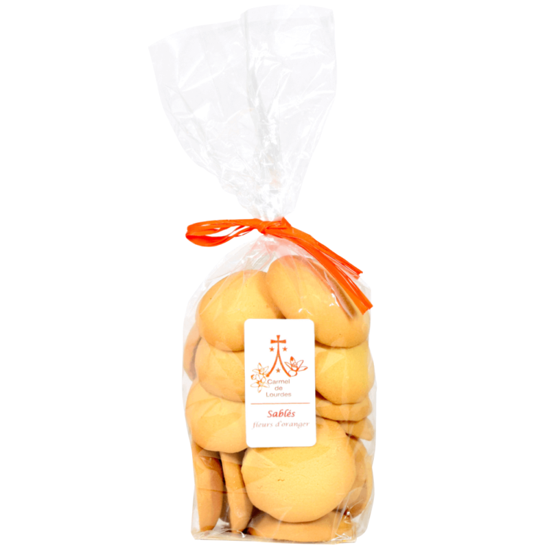 Biscuits à la fleur d'oranger - Carmel de Lourdes - Divine Box