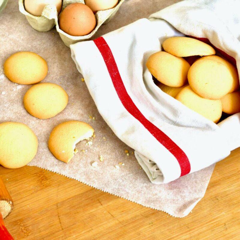 Biscuits à la fleur d'oranger SCENE - Carmel de Lourdes