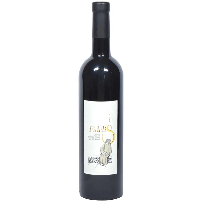 """Vin rouge """"Fidelis"""" - Abbaye Notre-Dame de Fidélité de Jouques - Divine Box"""