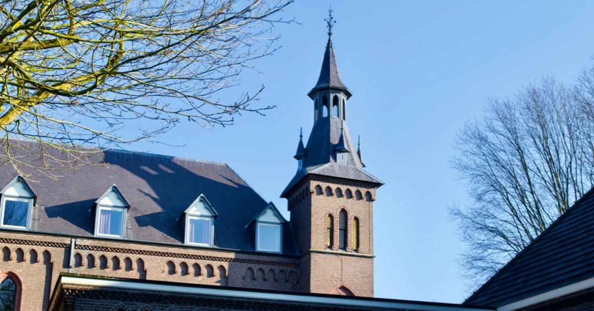 Clocher église de Koningshoeven - Abbaye de Koningshoeven - Divine Box