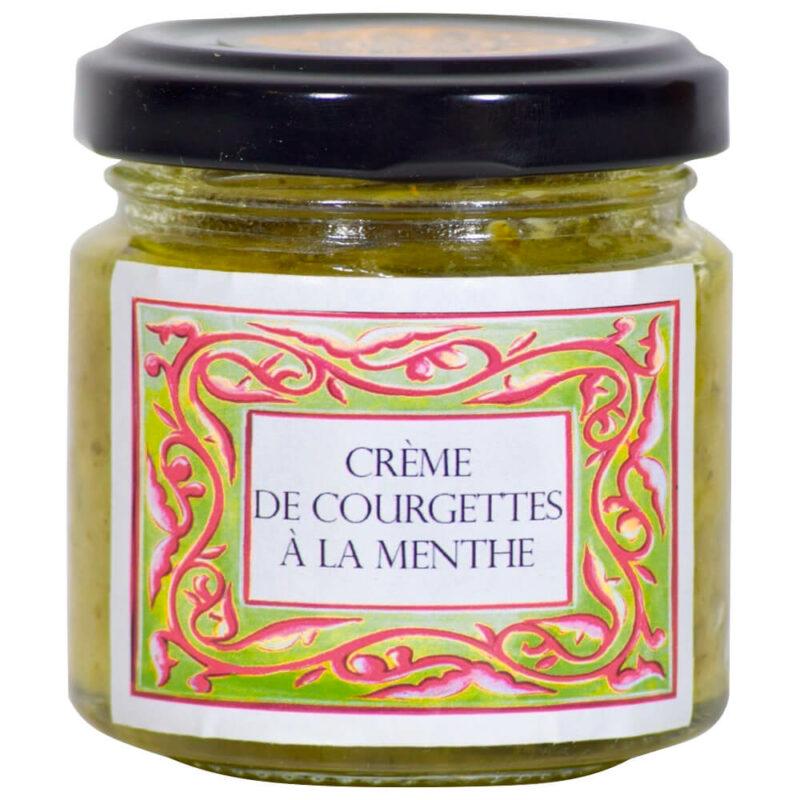 Crème Courgettes Menthe - Monastère de Solan - Divine Box