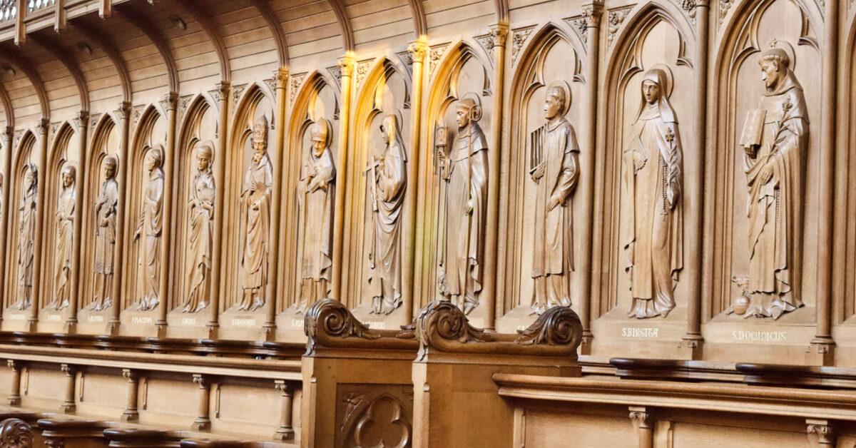 Stalles de l'église de Koningshoeven - Abbaye de Koningshoeven