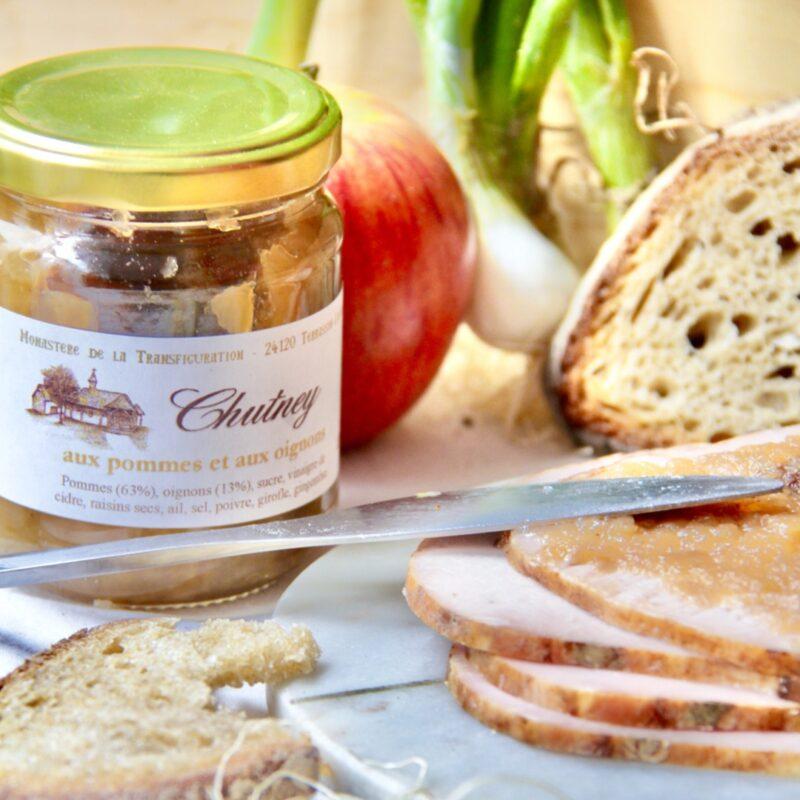 Chutney pomme oignons - Monastère de la transfiguration - Divine Box