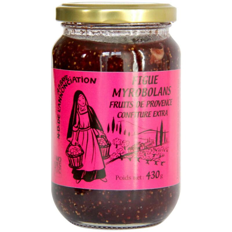 Confiture Figues Myrobolans - Abbaye ND l'Annonciation du Barroux - Divine Box