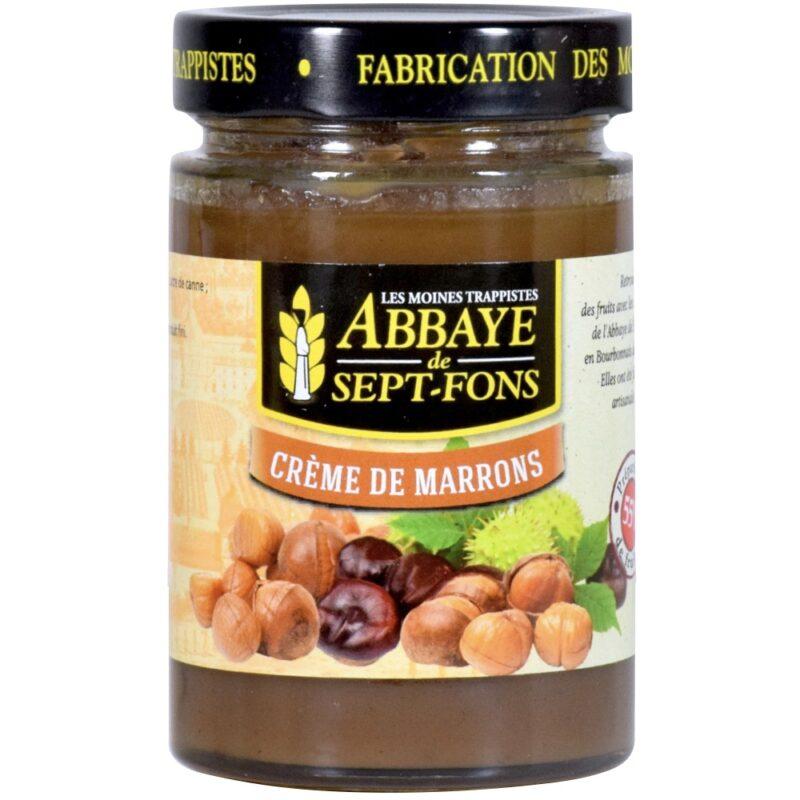 Crème de marrons - Abbaye Notre-Dame de Sept-Fons - Divine Box