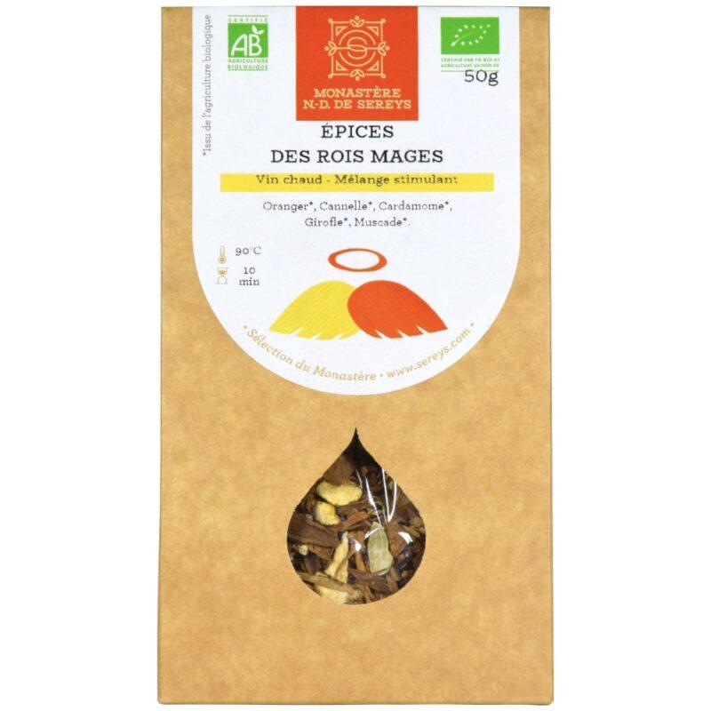 Épices des Rois Mage - Abbaye Notre-Dame de Sereys - Divine Box