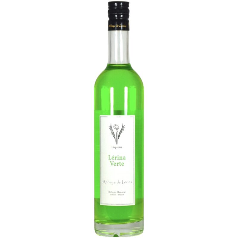 Liqueur « Lérina » verte – Abbaye de Lérins - Divine Box