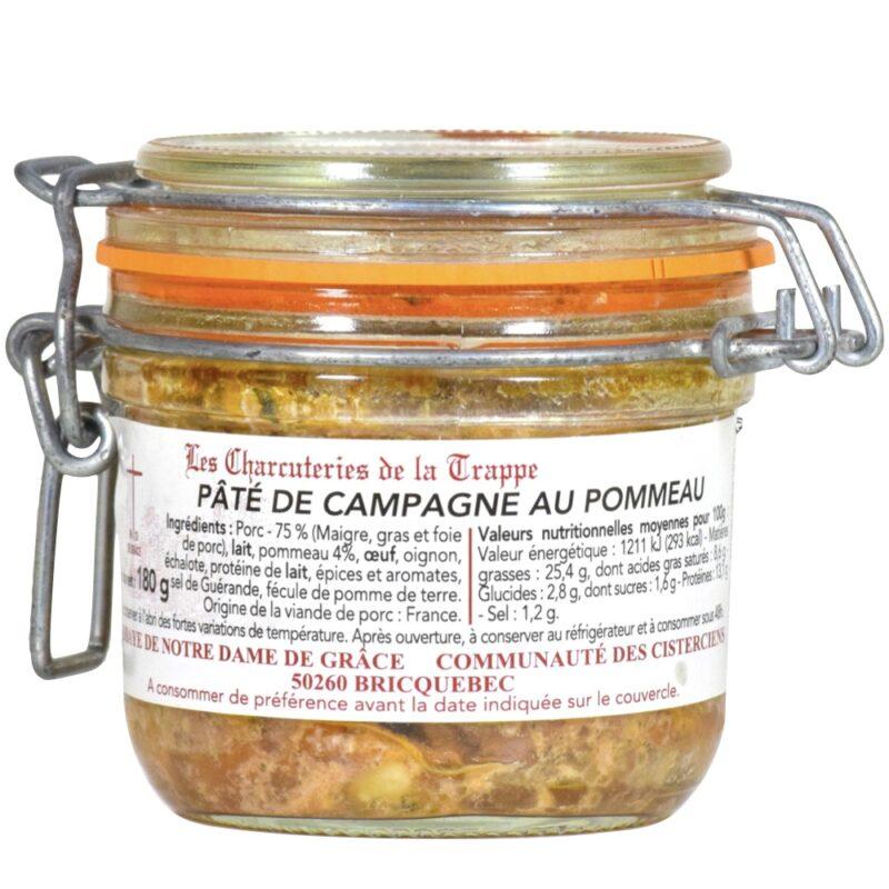 Pâté de campagne au pommeau - Abbaye Notre-Dame de Grâce de Bricquebec - Divine Box