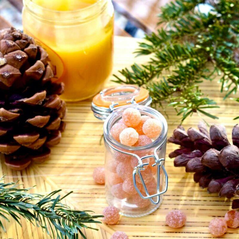 Bonbons miel gelée royale SCENE - Abbaye Saint-Wandrille.001