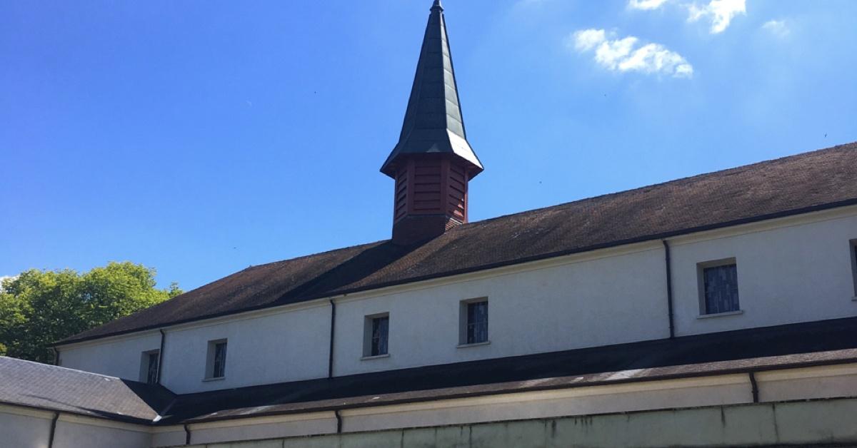 L'église de l'abbaye de Sept-Fons - Abbaye de Sept-Fons - Divjne Box