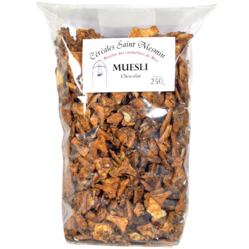 Muesli au chocolat - Carmel de Micy Orléans - Divine Box