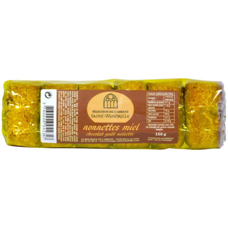 Nonnettes chocolat noisette - Abbaye de Saint-Wandrile - Divine Box