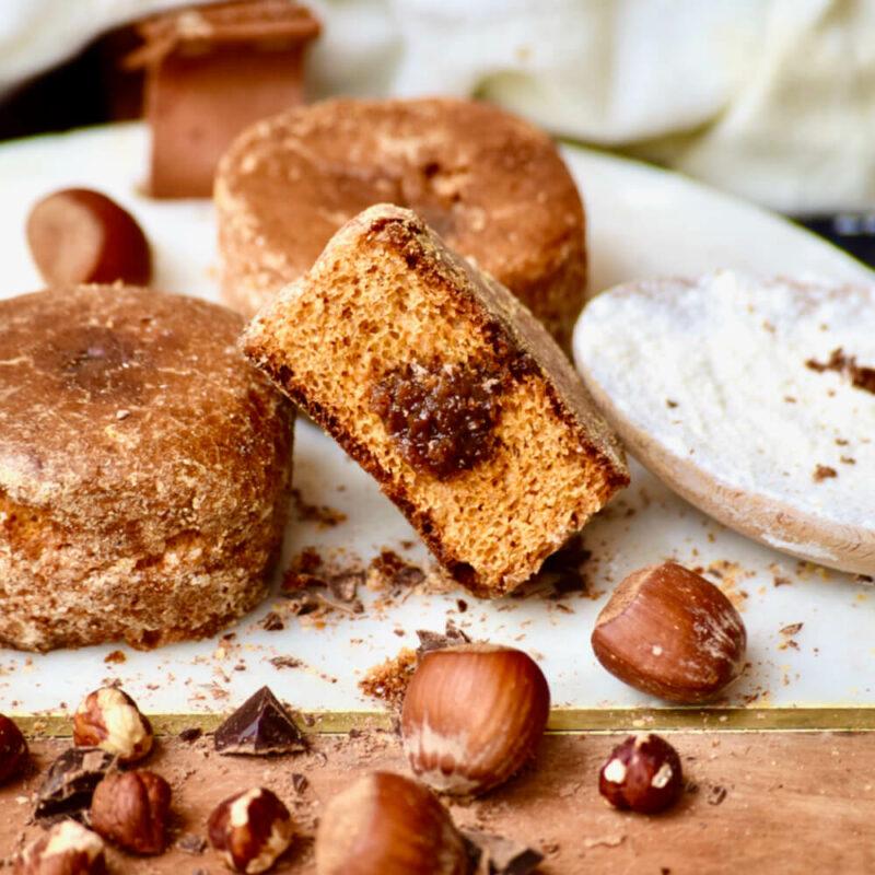 Nonnettes chocolat noisettes - Abbaye de Saint-Wandrille - Divine Box