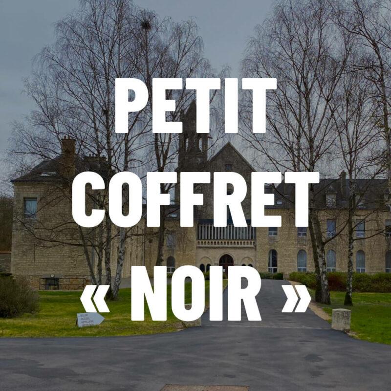 Petit coffret noir - Abbaye du Val d'Igny - Divine Box