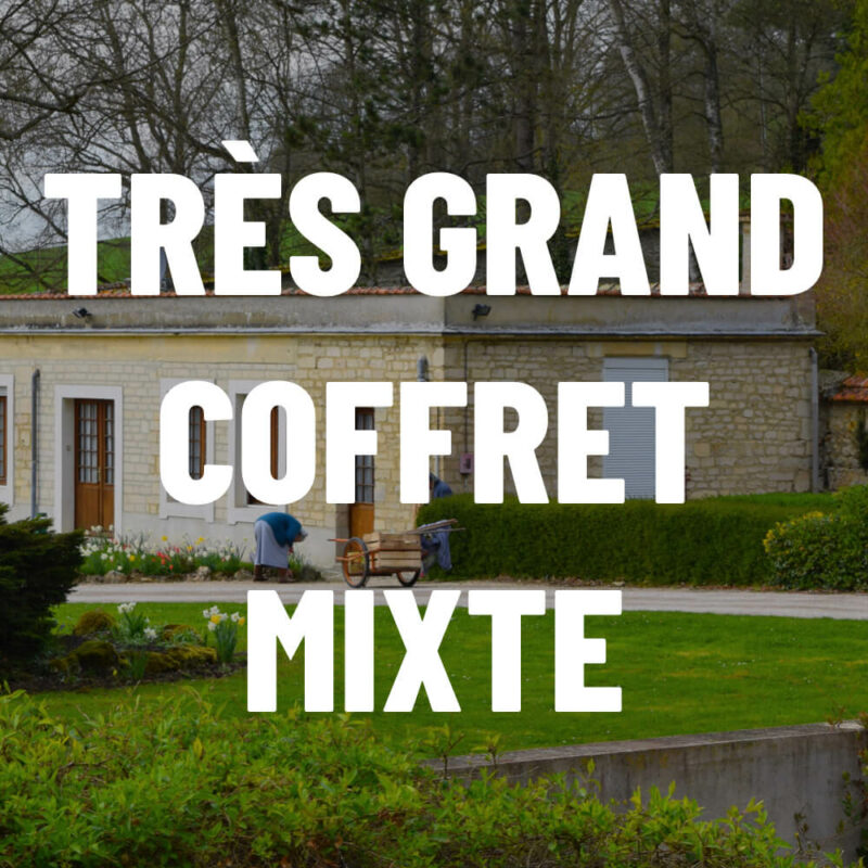 Très grand coffret mixte - Abbaye du Val d'Igny - Divine Box