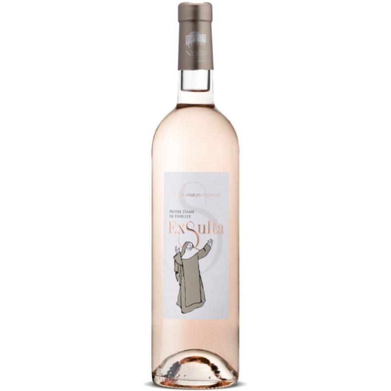 Vin rosé Exsulta - Abbaye de Jouques - Divine Box