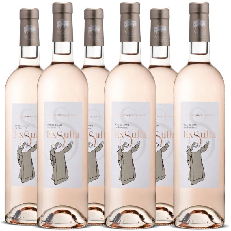 Opération vin abbaye de Jouques & Divine Box - Rosé Exsulta
