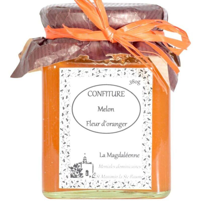 Confiture Melon Fleur d'Oranger - Monastère Sainte-Marie-Madeleine de Saint-Maximin - Divine Box