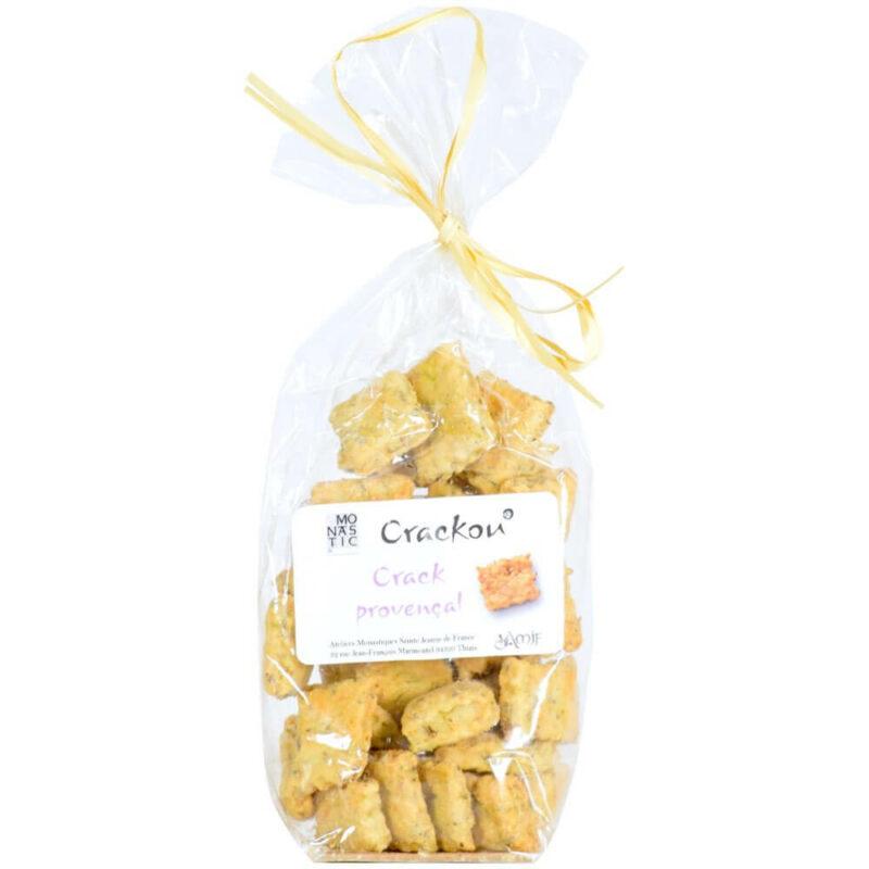 Crackers aux herbes de Provence - Monastère de Thiais