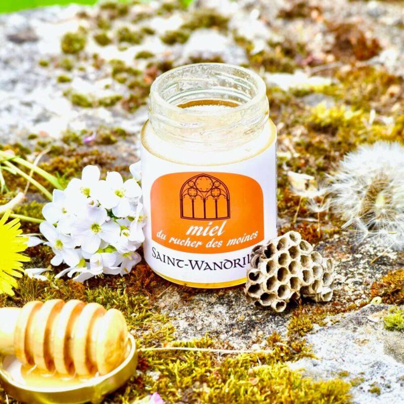 Miel du rucher des moines SCENE - Abbaye Saint-Wandrille de Fontenelle
