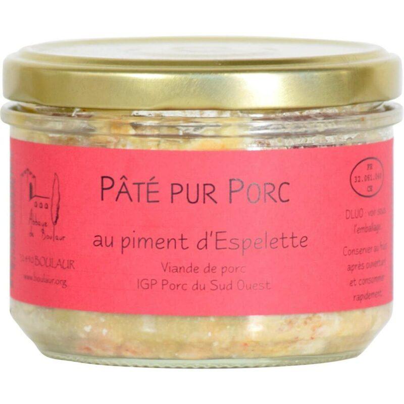 Pâté au piment d'Espelette - Abbaye Sainte-Marie de Boulaur - Divine Box