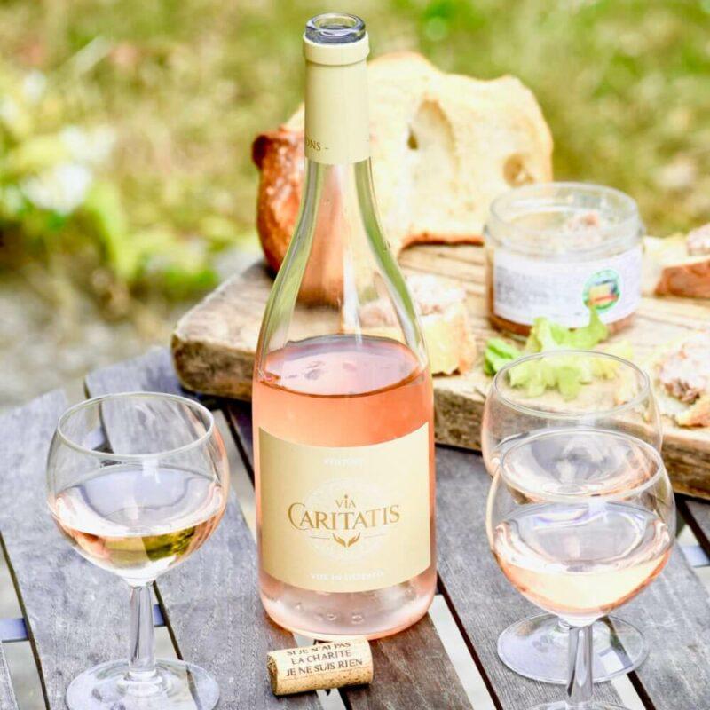 Vin rosé «VOX» SCENE - Abbaye Sainte-Madeleine du Barroux