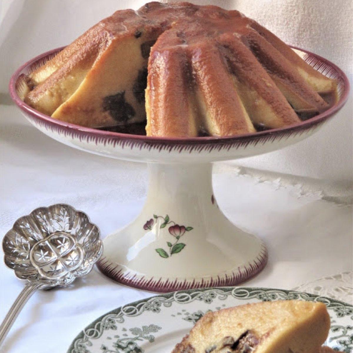 gâteau à la semoule et à la germalyne - abbaye de sept fons - divine box