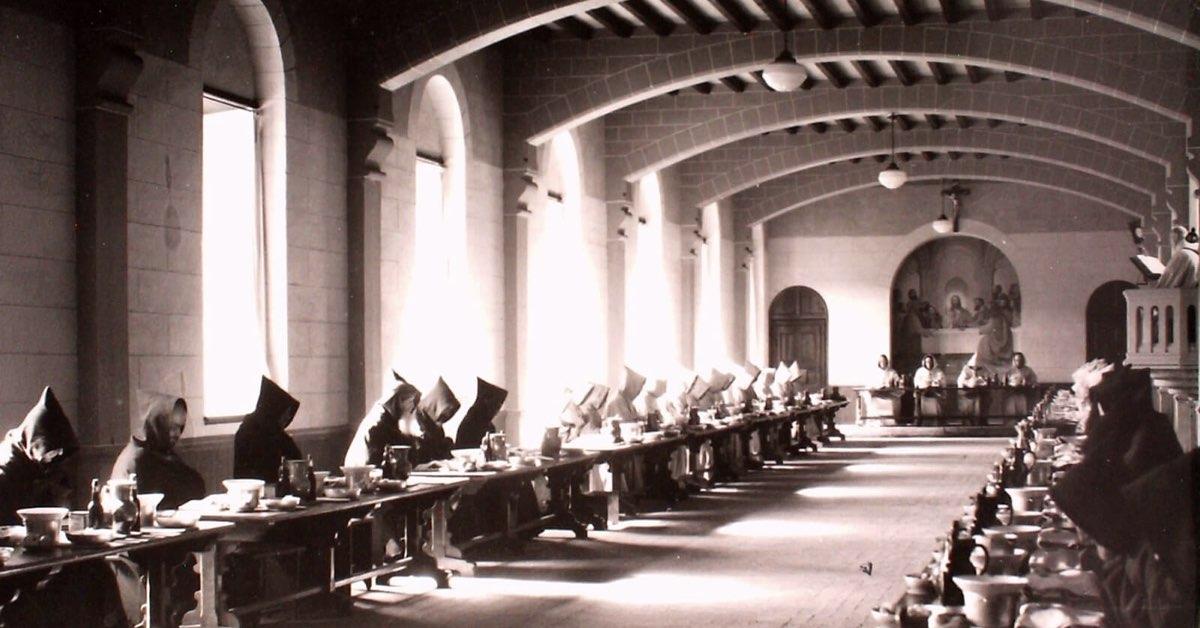 ancien réfectoire - abbaye de sept fons - divine box