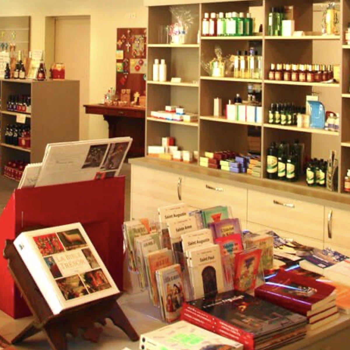 Le magasin de l'abbaye d'Igny, où vous pouvez passer pour faire un petit coucou aux sœurs ! ©Abbaye Igny